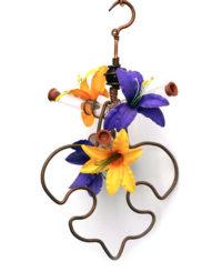 Fleur de Lis Feeder, $45