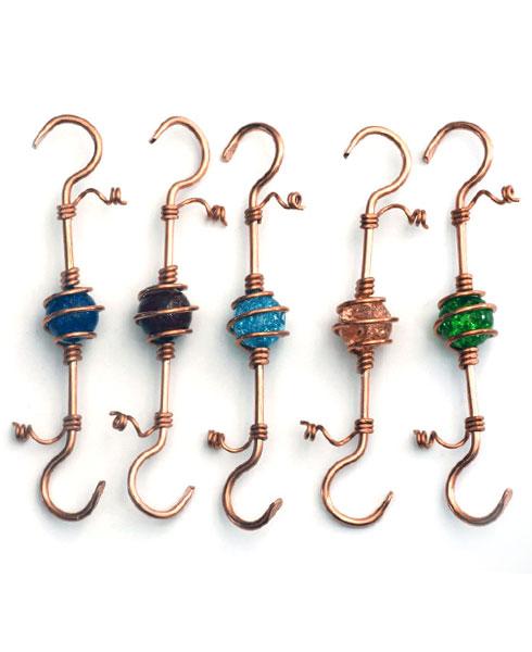 Jewel Hooks, $8